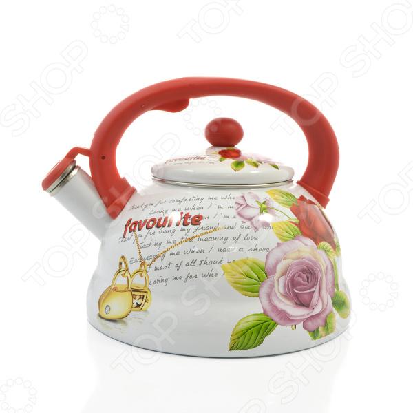 Чайник со свистком Mayer&Boch «Розы» MB-23081