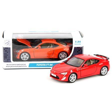 Купить Модель автомобиля 1:34 Carline Toyota FT-86. В ассортименте