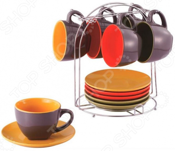 Чайный набор Wellberg Glamour WB-23609