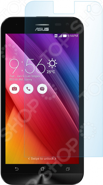 Стекло защитное skinBOX ASUS ZenFone 2 ZD551KL аксессуар защитное стекло asus zenfone selfie zd551kl it baggage itaszd551g