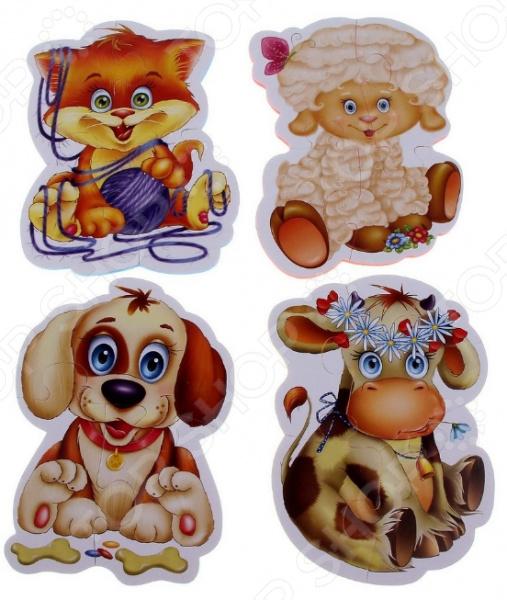Пазл для малышей Vladi Toys «Домашние любимцы»