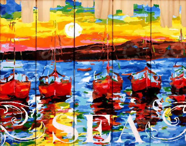 Набор для рисования по номерам Color Kit «Ласковое море»