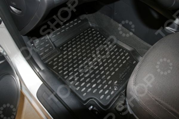 Комплект 3D ковриков в салон автомобиля Novline-Autofamily KIA Cerato Koup 2009 комплект ковриков в салон автомобиля novline autofamily kia cerato koup 2009 цвет черный