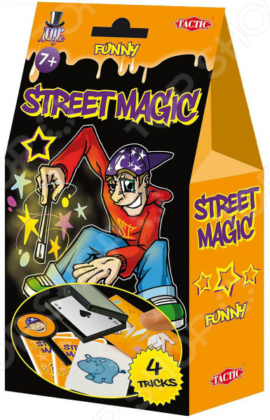 Набор для фокусов Tactic «Уличная магия»