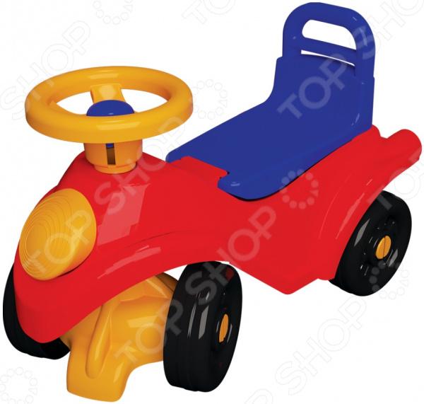 Автомобиль-каталка 4Wheel с рулевым управлением