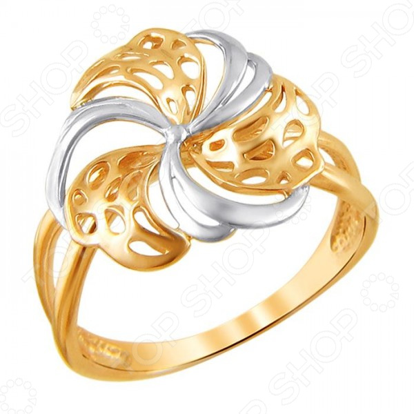 Кольцо «Цветок жизни»