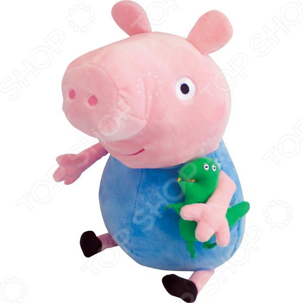 Мягкая игрушка Peppa Pig «Джордж с динозавром» peppa pig мягкая игрушка джордж с динозавром 40см