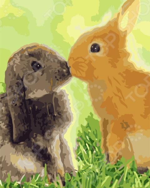 Набор для росписи по холсту Креатто «Любовь-морковь»
