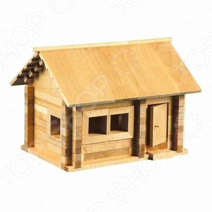 Конструктор деревянный Теремок «Избушка. Три медведя»