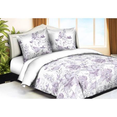 Купить Комплект постельного белья Pandora «Сиреневый луг». 1,5-спальный