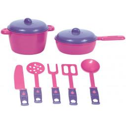 Набор посуды игрушечный Zebratoys «Повар»