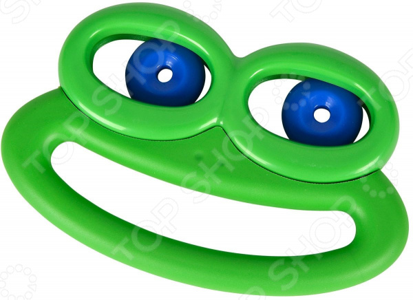 Игрушка-погремушка Simba «Лягушка с подвижными глазами». В ассортименте развивающая игрушка rubbabu лягушка 10 см в ассортименте
