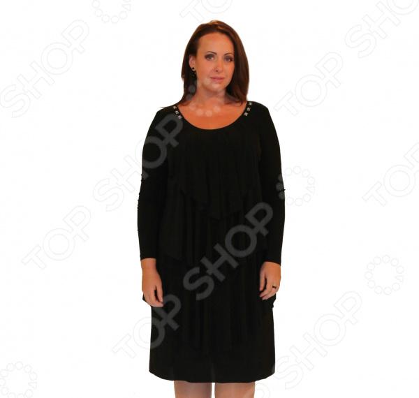Платье Klimini Шампань. Цвет: черный