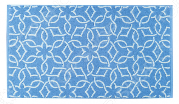 Полотенце махровое Aquarelle Стамбул. Цвет: белый, синий