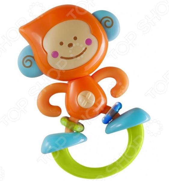 Игрушка-прорезыватель B kids «Веселая обезьянка» игрушка черепашка b kids