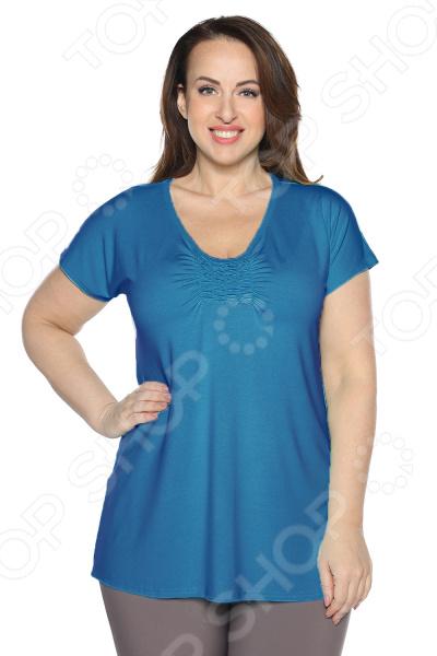 Блуза Матекс «Радость солнцу». Цвет: голубой блуза матекс радость солнцу цвет красный