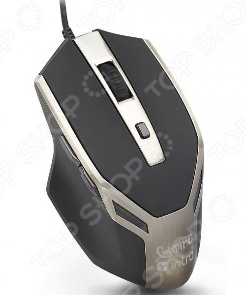 Мышь Intro MU110G мыши intro мышь mu110g intro gaming black usb