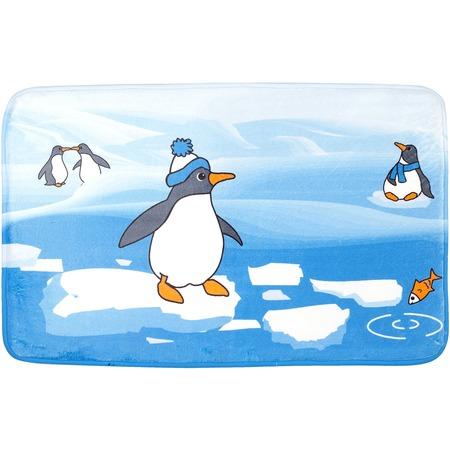 Купить Коврик для ванной Tatkraft Penguins
