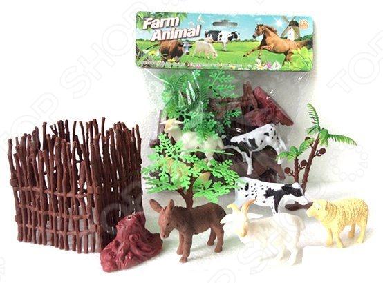 Набор фигурок домашних животных Shantou Gepai с аксессуарами 2C214-1