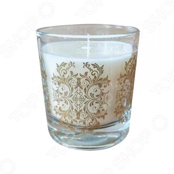 Свеча ароматизированная в стеклянном стакане