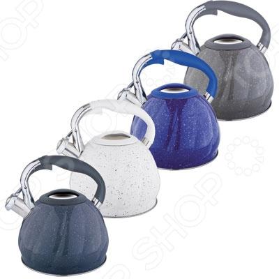 Чайник со свистком Rainstahl RS\WK-7645-30. В ассортименте чайник со свистком rainstahl 7600 27rs wk в ассортименте