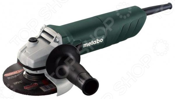 Машина шлифовальная угловая Metabo W 850-125 машина шлифовальная угловая metabo w 750 125 601231000 огр пускового тока
