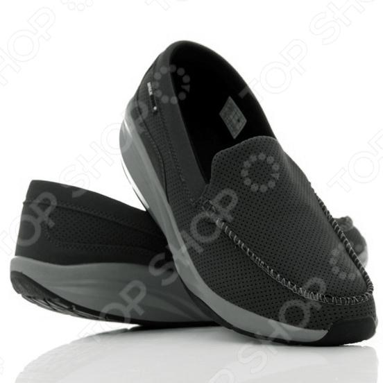 Разработаны, чтобы улучшить вашу жизнь, изменив вашу походку. Мокасины Walkmaxx Comfort с закругленной подошвой созданы для имитации ходьбы по мягкому песку. С мокасинами Walkmaxx Comfort ваши ноги будут в комфорте.  Способствуют укреплению мышц, ног и ягодиц  Стопа, перекатываясь с пятки на носок, усиливает циркуляцию крови  Ваши ноги не затекут при ходьбе  Давление перераспределяется с суставов на мышцы  Вы быстрее теряете калории и становитесь стройнее Мы модернизировали новые мокасины Walkmaxx Comfort улучшенным сочетанием материалов для большего комфорта и устойчивости при ходьбе:  Подошва сделана из PU полиуретан TPR резины термопластичная резина .  Подошва разработана против скольжения.  Верхняя часть обуви изготовлена из PU замши.  Стелька-вкладыш учитывает анатомию стопы, высокий подъем обеспечивает дополнительную устойчивость. Мокасины Walkmaxx Comfort с новой конструкцией подошвы и классическим утонченным стилем подарят вам привлекательный внешний вид в сочетании с комфортом ваших ног и осанки. К тому же вы сможете сочетать их абсолютно с любым комплектом из вашего гардероба. Эти мокасины являются идеальным балансом между пользой для вашего здоровья и внешним видом. Материал PU замши на верхней части Мокасин Walkmaxx Comfort обеспечивает отличную воздухопроницаемость в течение всего дня, поэтому ваши ноги смогут дышать даже в самый жаркий летний день. Противоскользящая подошва обеспечивает устойчивость на любой поверхности и безопасную ходьбу. Новая комбинация материалов внутри подошвы и их свойства подарят вам комфорт, защитят от ударов и трения, обеспечат дополнительную амортизацию.  Новый яркий дизайн подчеркивает изысканность вашего гардероба  Это удобная обувь на каждый день  Улучшенная анатомически разработанная округлая подошва со специальным подъемом обеспечивает дополнительную амортизацию и приводит в тонус ваши мышцы при ходьбе  Нагрузка на суставы снижается и улучшается осанка