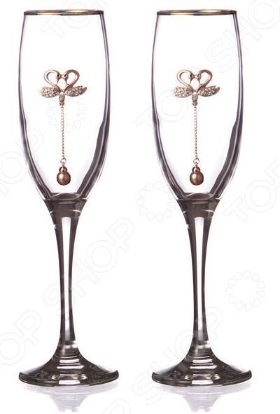 Набор бокалов для шампанского 802-510594 набор бокалов для бренди коралл 40600 q8105 400 анжела