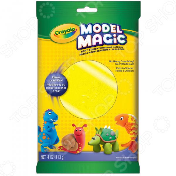 Пластилин застывающий Crayola «Волшебный» Пластилин застывающий Crayola «Волшебный» /Желтый