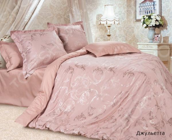 Комплект постельного белья Ecotex «Джульетта». Евро постельное белье ecotex комплект постельного белья герцогиня