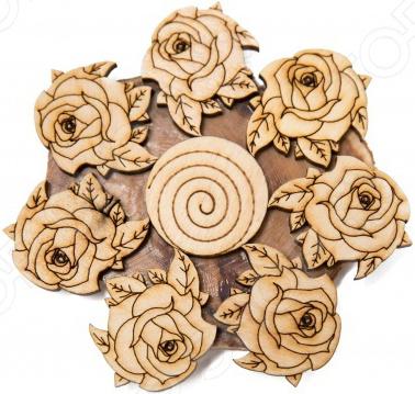 Подставка под горячее Mitya Veselkov «Розы и листья» подставки под телевизоры