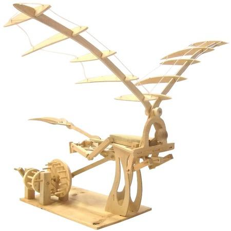 Купить Конструктор деревянный Bradex «Орнитоптер. Леонардо Да Винчи»