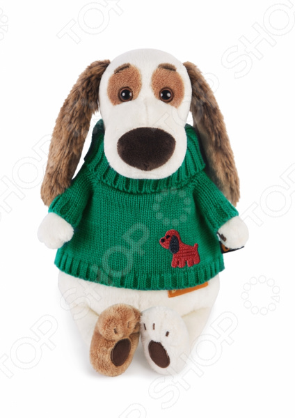 Мягкая игрушка BUDI BASA «Бартоломей в зеленом свитере»