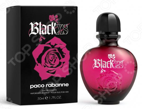 Туалетная вода для женщин Paco Rabanne XS Black, 50 мл туалетная вода paco rabanne туалетная вода lady million emg 80 мл