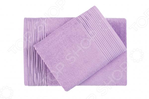 Фото - Полотенце махровое Aquarelle «Палитра». Цвет: аметистовый полотенце minimoto ya04462