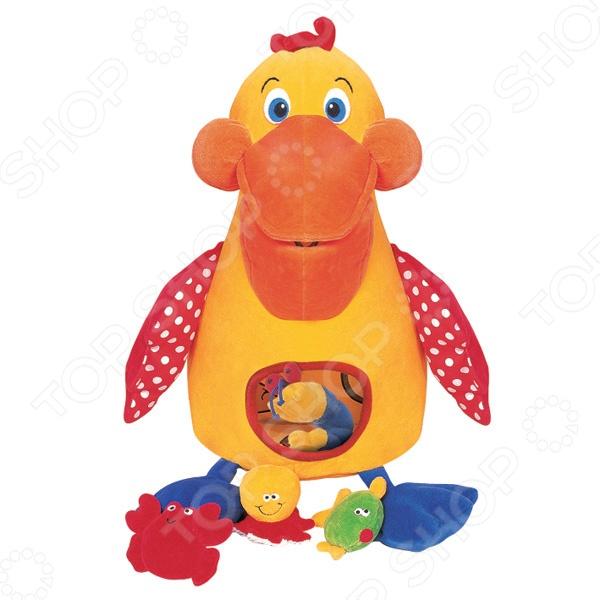 Мягкая игрушка развивающая K\'S Kids «Голодный пеликан с игрушками» Мягкая игрушка развивающая K\'S Kids «Голодный пеликан с игрушками» /