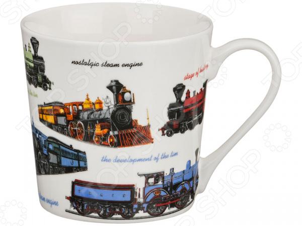 Кружка Lefard «Поезда» 153-770