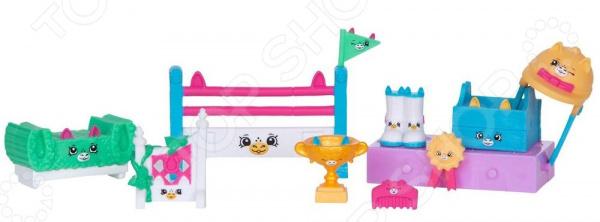 Набор игровой для девочек Moose «Конкурс прыжков через барьер для пони»