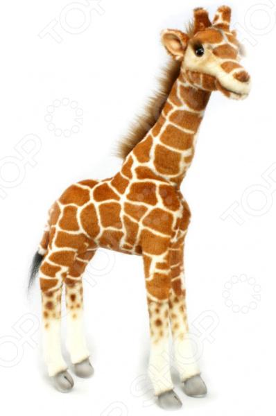 Мягкая игрушка Hansa «Жираф» 3429 мягкие игрушки hansa жираф 70 см