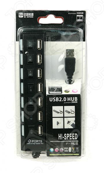 USB-хаб 199130 позволит одновременно подключить к вашему ПК или ноутбуку около 7 различных устройств. Главная особенность данной модели заключается в её удивительной функциональности, легкости, портативности и скорости передачи данных. Девайс совместим с такими операционными системами как: Windows, Mac и Linux. Компактный хаб станет прекрасным дополнением к рабочему столу, который облегчит работу со всеми необходимыми устройствами.