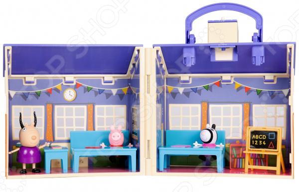 Игровой набор с фигуркой Peppa Pig «Пеппа в школе»