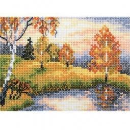 Набор для вышивания крестиком RTO «Осенний лес»