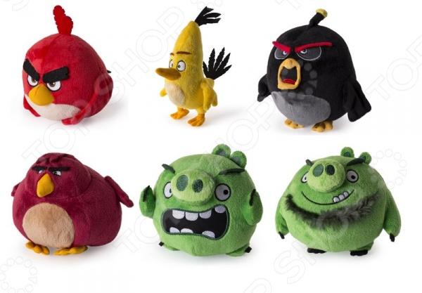 Мягкая игрушка Angry Birds 90513. В ассортименте