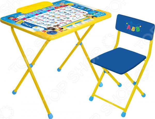 Набор мебели детский: стол и стул Ника «Познайка»