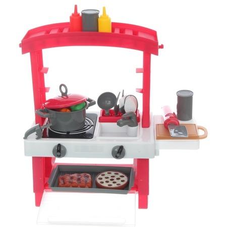 Купить Игровой набор для девочки Zhorya «Кухня с набором посуды»