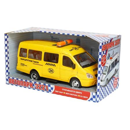 Купить Машинка инерционная PlaySmart «Газель 3221 Такси»