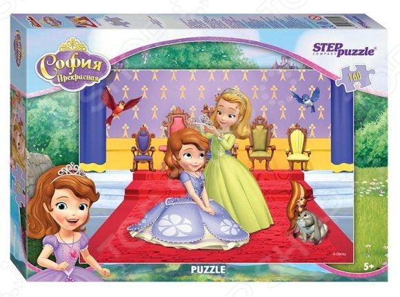 Пазл 160 элементов Step Puzzle «Принцесса София» пазл step puzzle принцесса софия disney 60 элементов