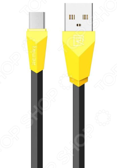Кабель REMAX Alien Micro-USB original remax 2 1a golden noodle style micro usb charging data cable for cellphone