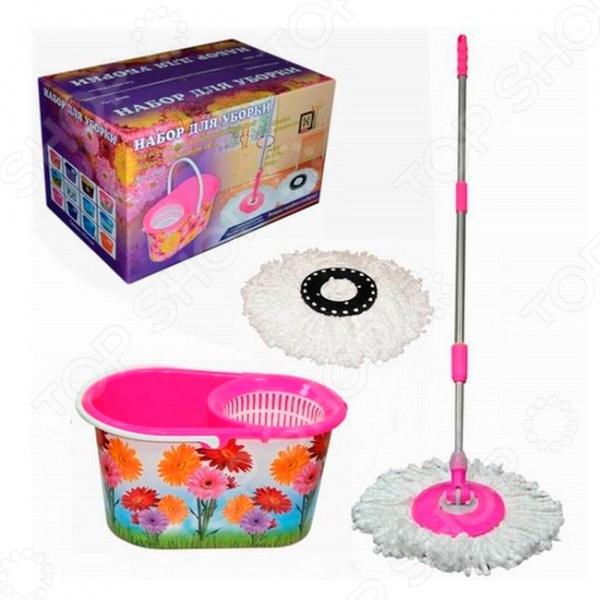 Набор для уборки Violet 0900/182 «Цветы»
