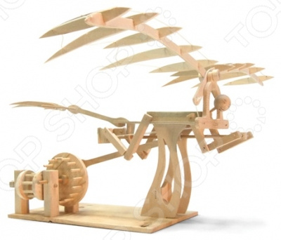 Конструктор деревянный Bradex «Орнитоптер. Леонардо Да Винчи»